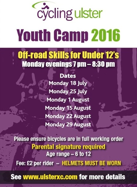 MTB Summer Youth Camp Dates