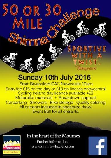 Shimna Sportive Sun. 10th July