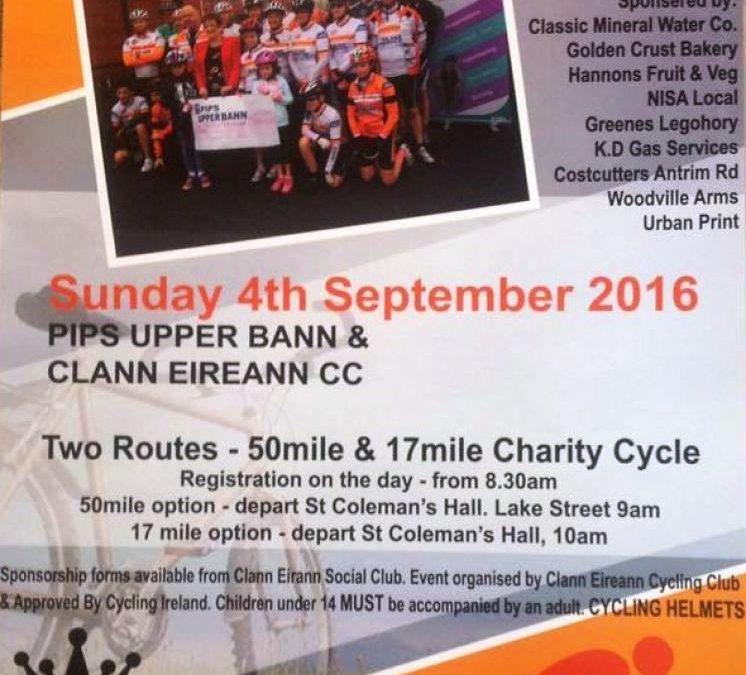 Clann Eireann CC in aid of PIPS 2016