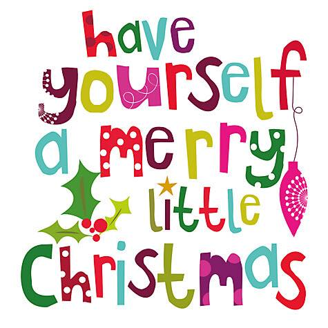 Wishing You All a Very Happy Christmas