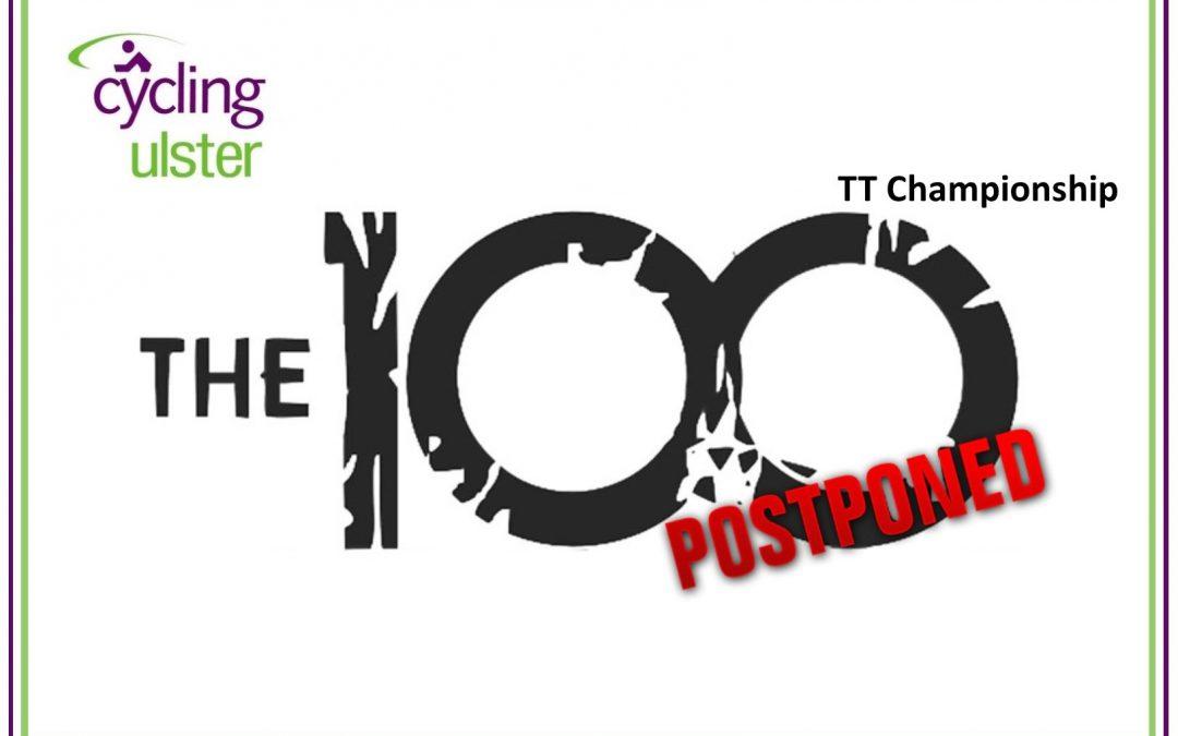 POSTPONED – Ulster 100TT Championship (New Date)