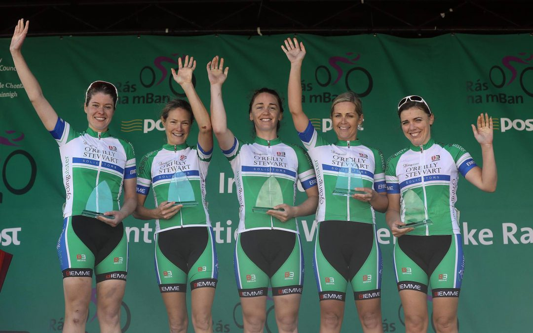 Smyth 11th & Ulster Best of the Irish Teams in Rás na mBan