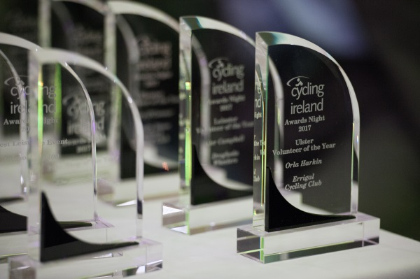 Ulster Success at Cycling Ireland Awards Evening