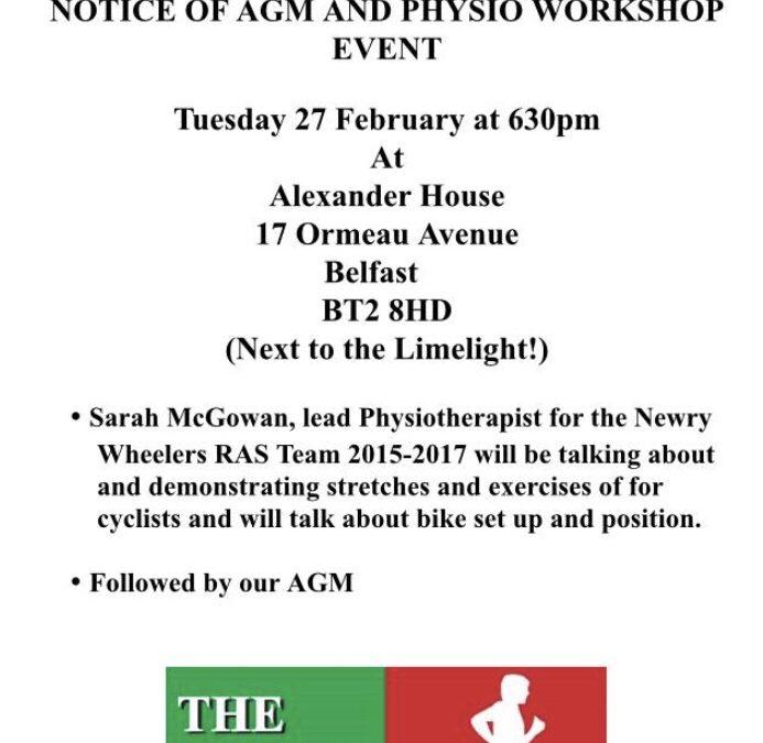 CU Women's Commission AGM Details of AGM