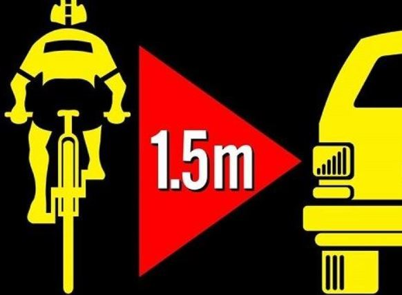 Cycling Ulster Welcome Minimum Passing Distance Commitment