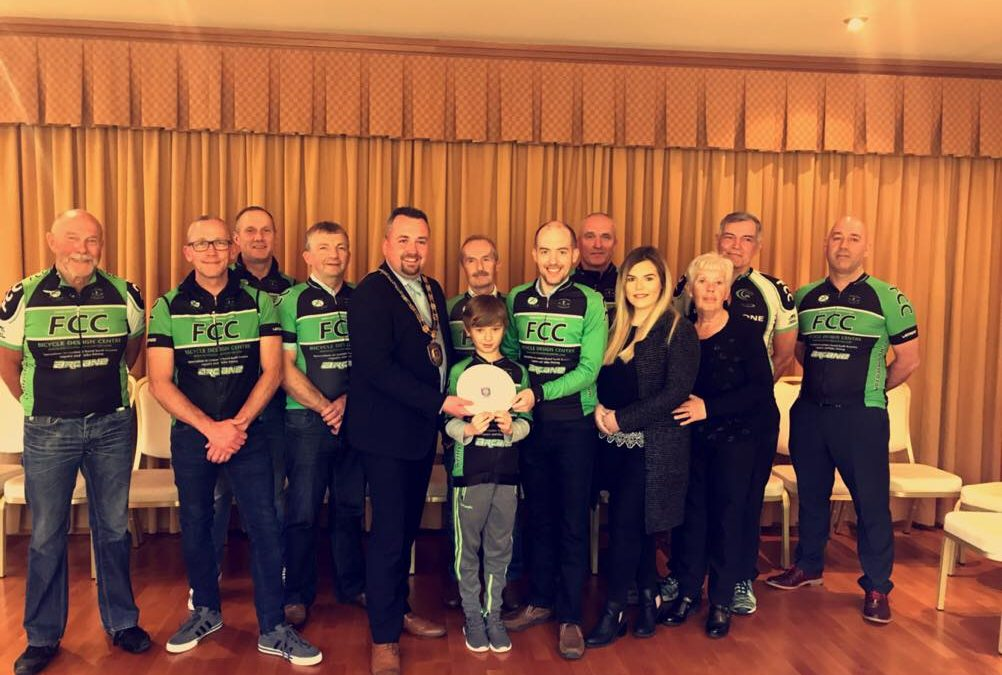 Fintona CC Mark 50th Anniversary at Council Reception