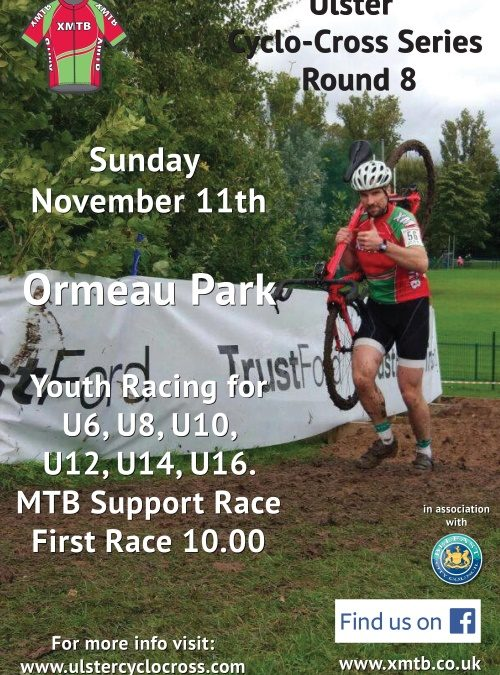 Ulster CX Series Round 8 – Ormeau Park – Sunday 11th November