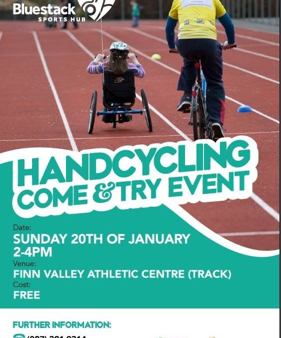 Handcycling Come & Try Event in Donegal