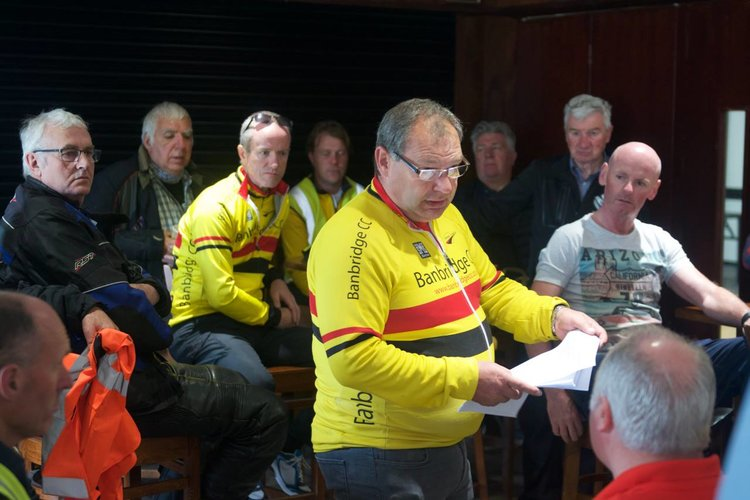 Cycling Ulster Condolonces on Death of Alan Towell