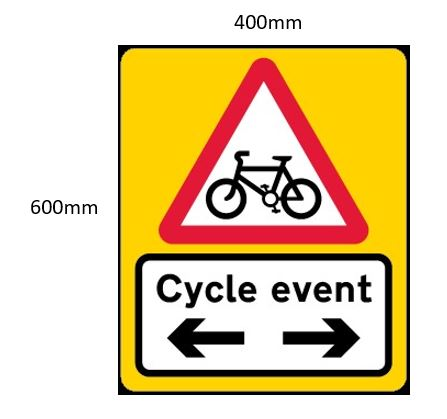 Cycling Ulster Events Meetings – Signage Requirements for 2019