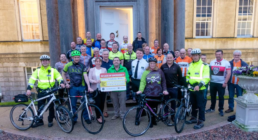 CU Launch Safer Cycling Project with Armagh, Banbridge and Craigavon PCSP