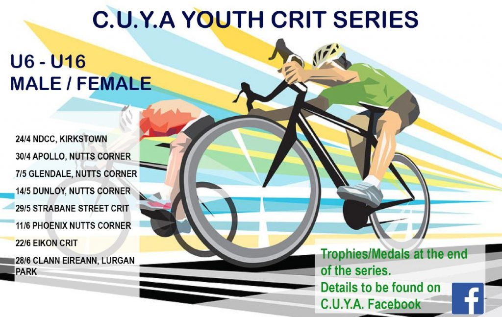 Ulster Youth Crit Series Round 1 – Wednesday 24th April