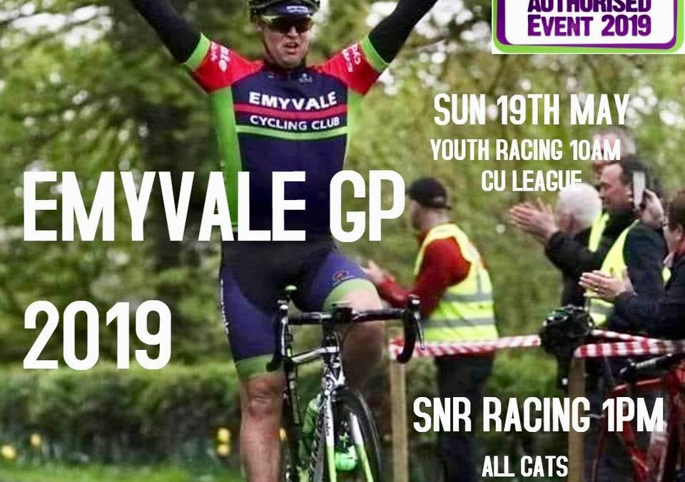 Emyvale GP Entry Information & Race Details