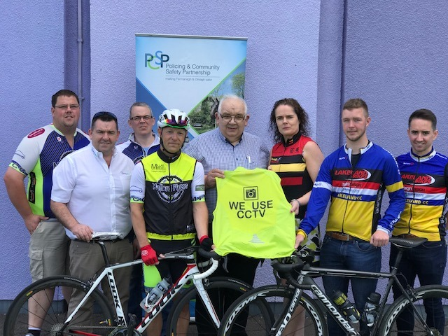 Fermanagh & Omagh PCSP Support CU's Safer Cycling Project