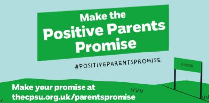 NSPCC Child Protection in Sport Unit launch Positive Parents Promise