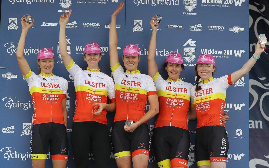 Cycling Ulster win Team Award at Rás na mBan