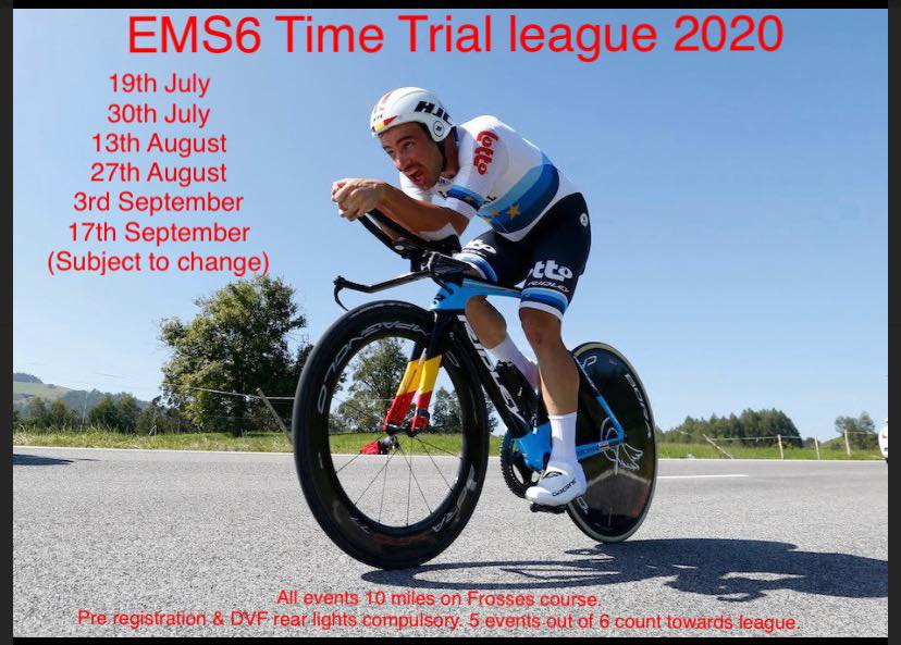 Return to Open Competition with Ernie Magwood Super Six TT Series – Sunday 19th July