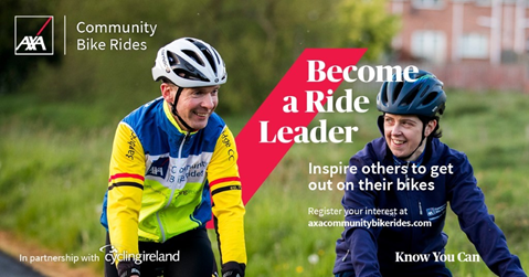Free leader training with AXA Community Bike Rides